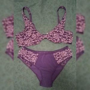 Matching set! Bra and underwear